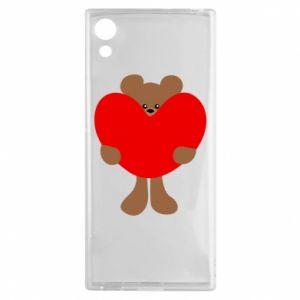 Etui na Sony Xperia XA1 Bear with a big heart