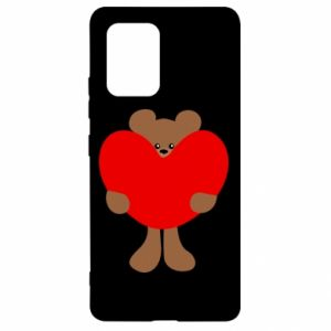 Etui na Samsung S10 Lite Bear with a big heart