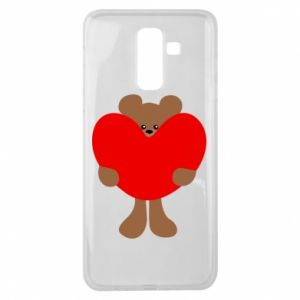Etui na Samsung J8 2018 Bear with a big heart