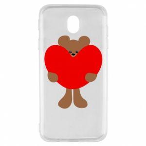 Etui na Samsung J7 2017 Bear with a big heart