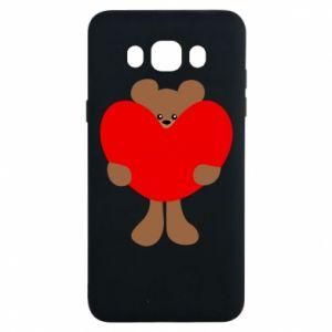 Etui na Samsung J7 2016 Bear with a big heart