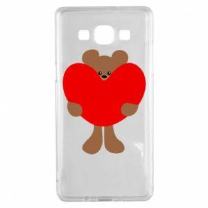 Etui na Samsung A5 2015 Bear with a big heart