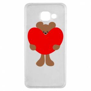 Etui na Samsung A3 2016 Bear with a big heart