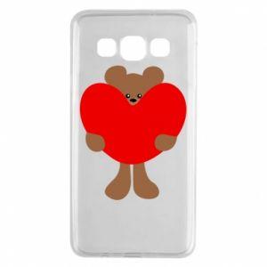Etui na Samsung A3 2015 Bear with a big heart