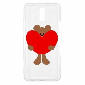 Etui na Nokia 2.3 Bear with a big heart