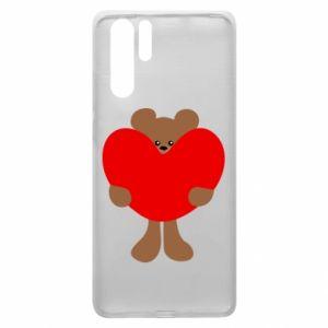 Etui na Huawei P30 Pro Bear with a big heart