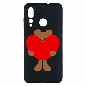 Etui na Huawei Nova 4 Bear with a big heart