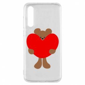 Etui na Huawei P20 Pro Bear with a big heart