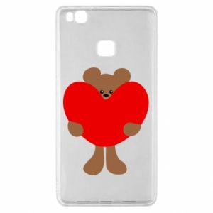 Etui na Huawei P9 Lite Bear with a big heart