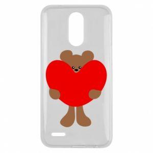 Etui na Lg K10 2017 Bear with a big heart