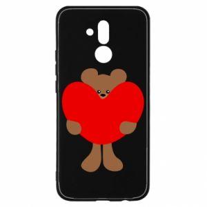 Etui na Huawei Mate 20 Lite Bear with a big heart