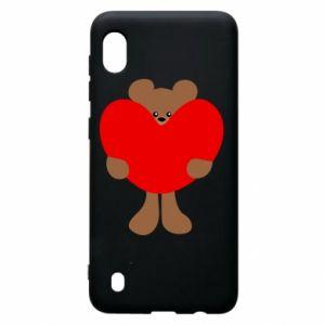 Etui na Samsung A10 Bear with a big heart