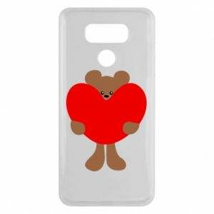 Etui na LG G6 Bear with a big heart