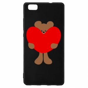 Etui na Huawei P 8 Lite Bear with a big heart