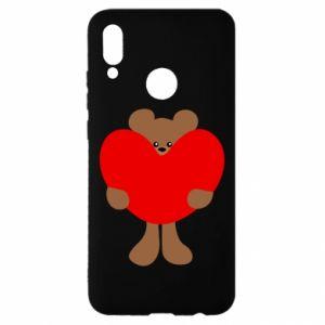 Etui na Huawei P Smart 2019 Bear with a big heart