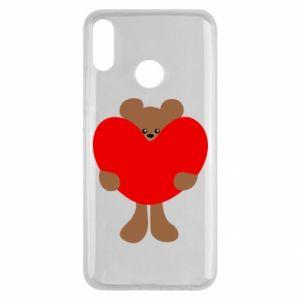 Etui na Huawei Y9 2019 Bear with a big heart