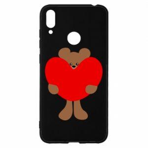 Etui na Huawei Y7 2019 Bear with a big heart