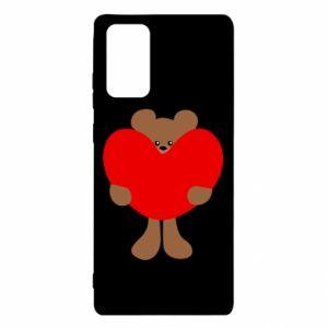 Etui na Samsung Note 20 Bear with a big heart
