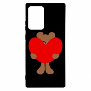 Etui na Samsung Note 20 Ultra Bear with a big heart