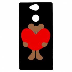 Etui na Sony Xperia XA2 Bear with a big heart
