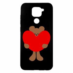 Etui na Xiaomi Redmi Note 9/Redmi 10X Bear with a big heart