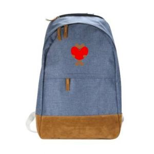 Urban backpack Bear with a big heart