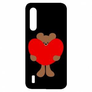 Etui na Xiaomi Mi9 Lite Bear with a big heart