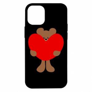 Etui na iPhone 12 Mini Bear with a big heart