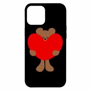 Etui na iPhone 12 Pro Max Bear with a big heart