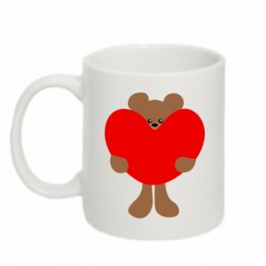 Kubek 330ml Bear with a big heart