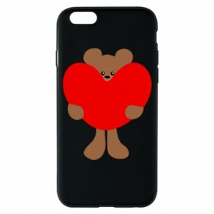 Phone case for iPhone 6/6S Bear with a big heart