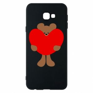 Phone case for Samsung J4 Plus 2018 Bear with a big heart