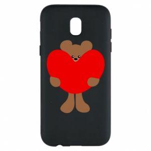 Etui na Samsung J5 2017 Bear with a big heart
