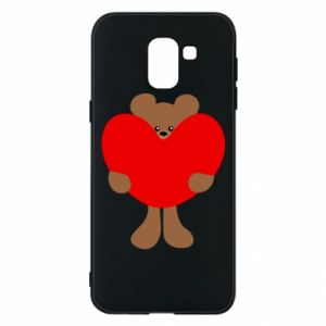 Etui na Samsung J6 Bear with a big heart