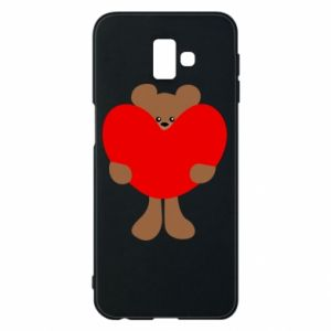 Etui na Samsung J6 Plus 2018 Bear with a big heart