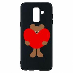 Etui na Samsung A6+ 2018 Bear with a big heart