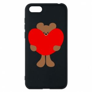 Phone case for Huawei Y5 2018 Bear with a big heart