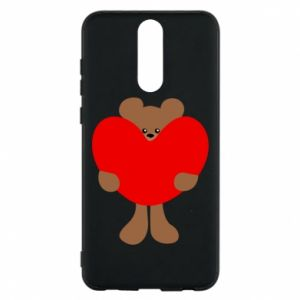 Phone case for Huawei Mate 10 Lite Bear with a big heart
