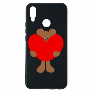 Phone case for Huawei P Smart Plus Bear with a big heart