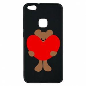 Etui na Huawei P10 Lite Bear with a big heart