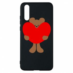 Etui na Huawei P20 Bear with a big heart