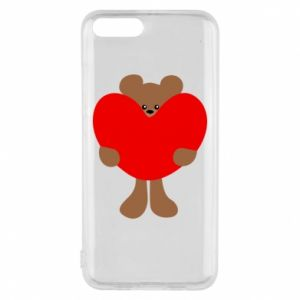 Phone case for Xiaomi Mi6 Bear with a big heart