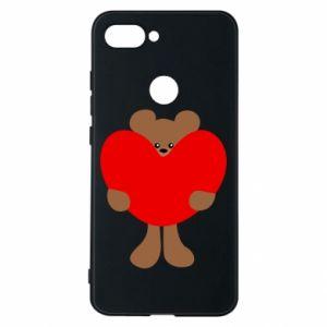 Etui na Xiaomi Mi8 Lite Bear with a big heart
