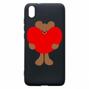 Etui na Xiaomi Redmi 7A Bear with a big heart