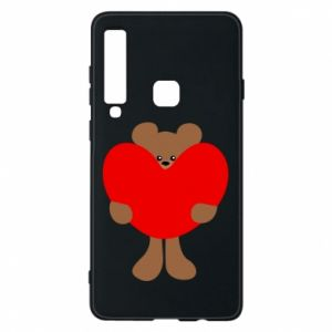 Phone case for Samsung A9 2018 Bear with a big heart