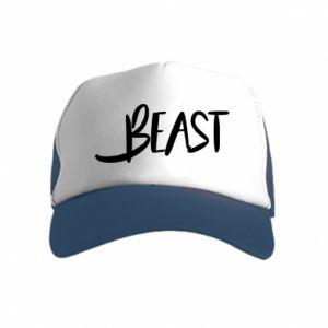 Czapka trucker dziecięca Beast