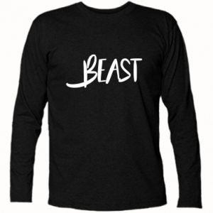 Long Sleeve T-shirt Beast