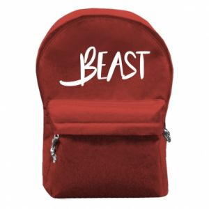 Backpack with front pocket Beast