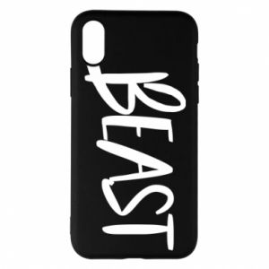 Phone case for iPhone X/Xs Beast