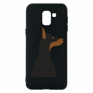 Phone case for Samsung J6 Beautiful doberman - PrintSalon